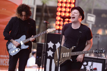 Patrick Stump Fall Out Boy Performs on NBC's 'Today'