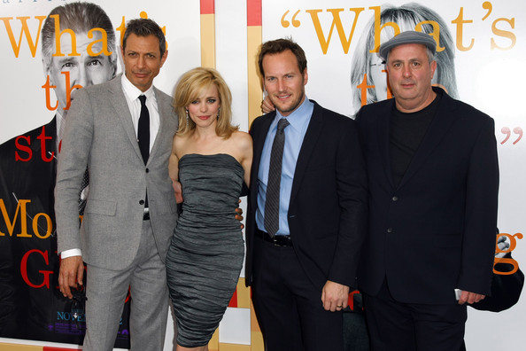 "Patrick Wilson (L-R) Actors Jeff Goldblum, Rachel McAdams, Patrick Wilson and Roger Michell attend the New York Premiere of ""Morning Glory"" at Ziegfeld Theatre on November 7, 2010 in New York City."