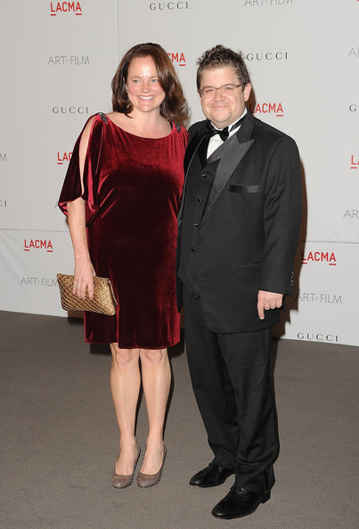 Patton Oswalt with cool, friendly, Wife Michelle Eileen McNamara