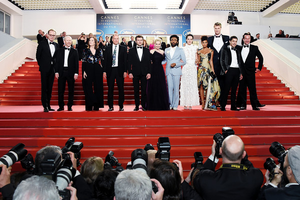 'Solo: A Star Wars Story' Red Carpet Arrivals - The 71st Annual Cannes Film Festival
