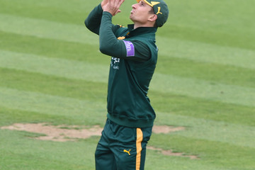 Paul Collingwood Durham v Nottinghamshire Outlaws - Royal London One-Day Cup 2014 Semi Final