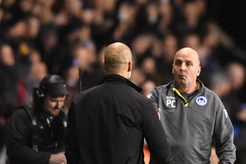 Paul Cook Wigan Athletic v Manchester City - The Emirates FA Cup Fifth Round