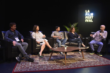 Paul Cowling 2018 LA Film Festival - Coffee Talks: Screenwriters