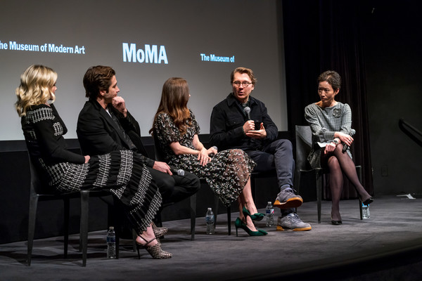 MoMA's Contenders Screening Of 'Wildlife' [fashion,event,performance,design,talent show,conversation,fashion design,competition,contenders,carey mulligan,la frances hui,paul dano,zoe kazan,jake gyllenhaal,screen,moma titus one,moma,contenders screening of wildlife]