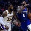 Paul George Los Angeles Lakers v Los Angeles Clippers