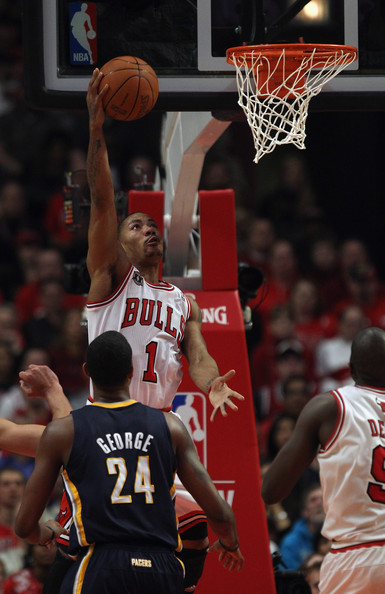41be29a6f99 Paul George Photos Photos - Indiana Pacers v Chicago Bulls - Game ...