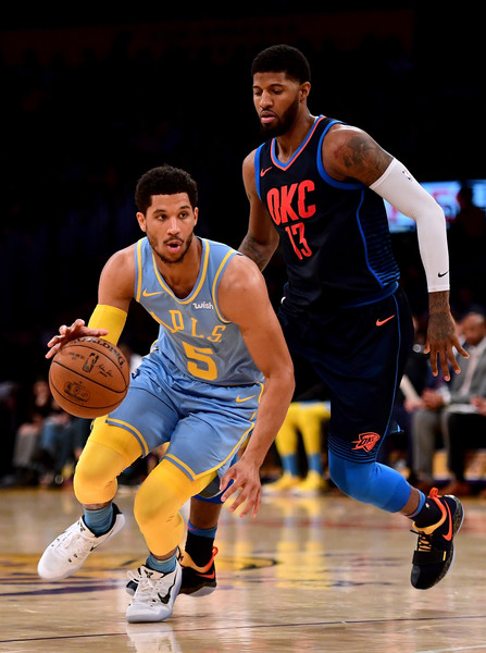 65bc1d77d93 Paul George and Josh Hart Photos Photos - Oklahoma City Thunder v ...