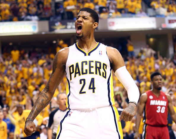 Paul George - Miami Heat v Indiana Pacers - Game Six