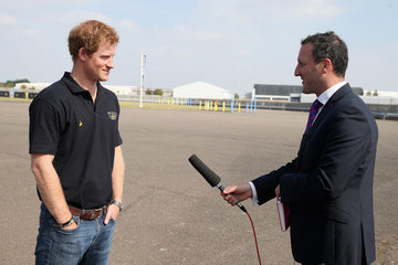 Paul Harrison Prince Harry Attends Invictus Games Jaguar Land Rover Driving Challenge
