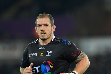 Paul James Ospreys v Newcastle Falcons - European Rugby Challenge Cup