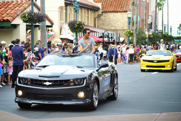Paul Jolley American Idol 2013 Finalists Honored At Walt Disney World In Florida