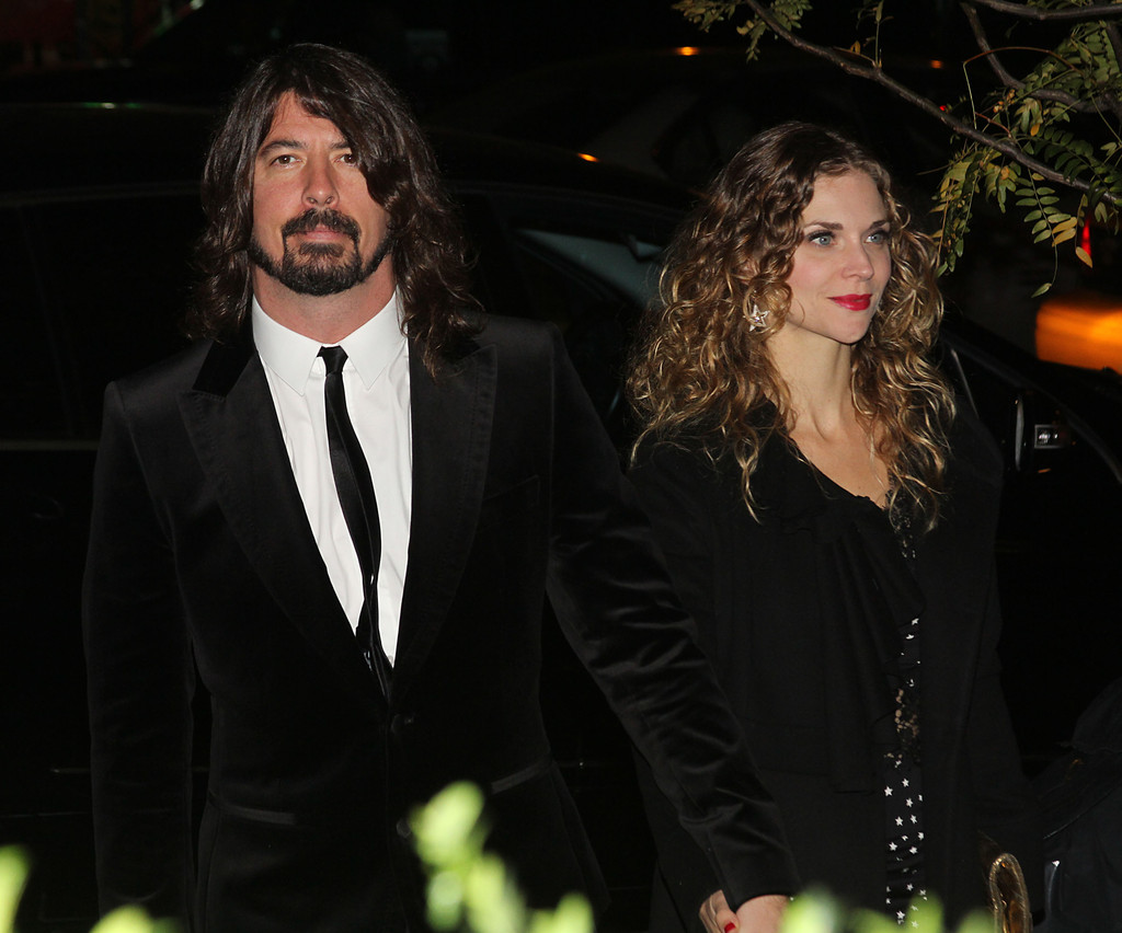 dave grohl and jennifer youngblood photos photos paul