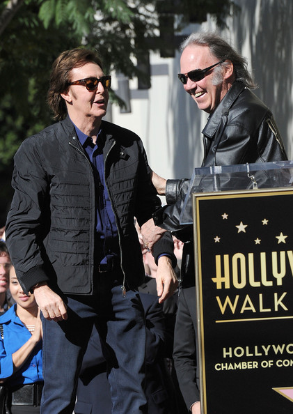 Paul McCartney Honored On The Hollywood Walk Of Fame