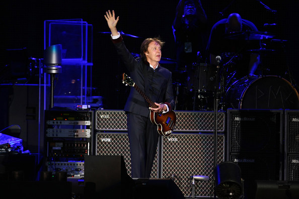 Sir Paul McCartney performs at Yankee Stadium on July 16, 2011 in New York City.