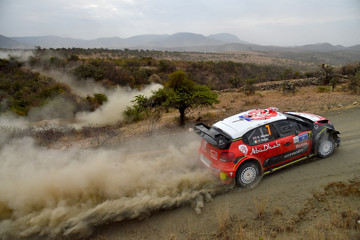 Paul Nagle FIA World Rally Championship Mexico - Day Two