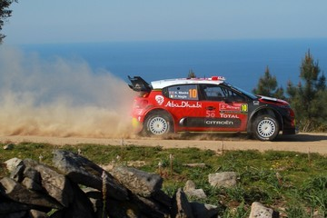 Paul Nagle FIA World Rally Championship Portugal - Day Two