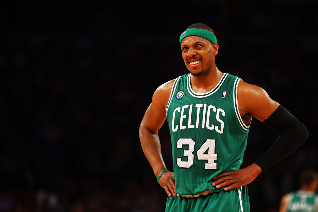 Paul+Pierce+Boston+Celtics+v+New+York+Kn