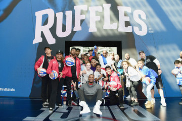 Paul Pierce Ruffles, the Official Chip of the NBA, and Presenting Partner of the NBA Celebrity All-Star Game Unveils 'THE RIDGE' 4-Point During NBA All-Star Weekend