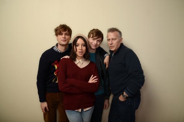 Actors Matthew Gray Gubler, Aubrey Plaza, Dane DeHaan, and ...