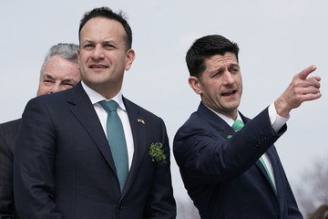Paul Ryan Trump And Pence Host Irish Taoiseach For Annual Friends Of Ireland Luncheon
