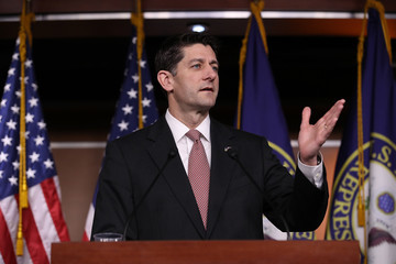 Paul Ryan Paul Ryan Holds Weekly Press Briefing at The Capitol