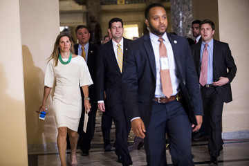 Paul Ryan Democrats Hold Sit-In in House Chamber to Force Vote on Gun Control Legislation