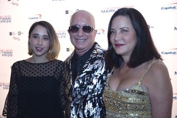 Paul Shaffer Victoria Lily Shaffer 2017 Mark Twain Prize for American Humor