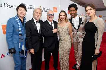 Paul Shaffer Clive Davis and Recording Academy Pre-GRAMMY Gala - Red Carpet