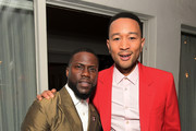 Kevin Hart and John Legend attend the Paul Smith Honors John Legend dinner on May 14, 2019 in Los Angeles, California.