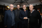 Scott Farrar, Andrew Form, Paul Thomas Anderson and Brad Fuller attend a special screening of ?A Quiet Place? at The Hearth and Hound on November 27, 2018 in Los Angeles, California.