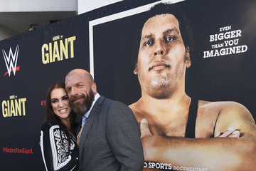 "Paul ""Triple H"" Levesque Premiere Of HBO's 'Andre The Giant' - Arrivals"