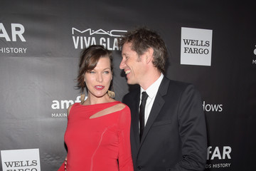 Paul W.S. Anderson Arrivals at amfAR's Inspiration LA Gala — Part 4
