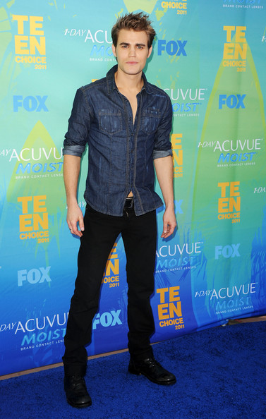 Paul Wesley Actor Paul Wesley arrives at the 2011 Teen Choice Awards held at the Gibson Amphitheatre on August 7, 2011 in Universal City, California.