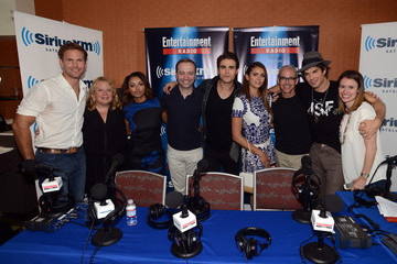 Paul Wesley Nina Dobrev SiriusXM's Entertainment Weekly Radio Channel Broadcasts From Comic-Con 2014