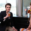 Carly Steel and Paul Wesley
