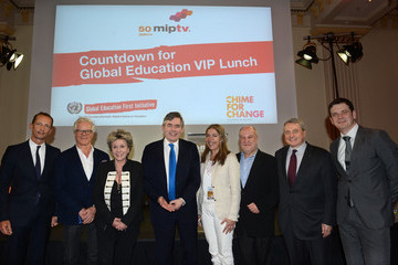 Paul Zilk Countdown For Global Education VIP Lunch Supported By Chime For Change
