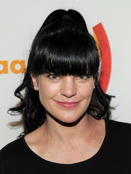 Pauley Perrette Actress Pauley Perrette poses at the 22nd Annual GLAAD ...