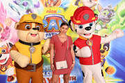 Imogen Thomas attends the Gala screening of Paw Patrol Mighty Pups at Cineworld Leicester Square on May 12, 2019 in London, England.