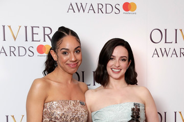 Pearl Mackie The Olivier Awards With Mastercard - Press Room