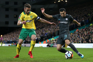 Pedro Norwich City v Chelsea - The Emirates FA Cup Third Round