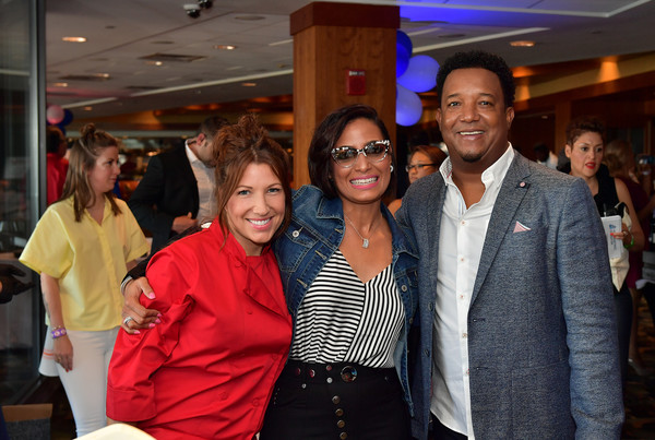 Pedro Martinez Charity Feast With 45