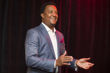 Pedro Martinez Feast With 45 at Fenway