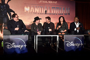 Pedro Pascal Press Conference For The Disney+ Exclusive Series 'The Mandalorian'