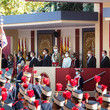 Pedro Sánchez - Socialist Politician Spanish Royals Attend The National Day Military Parade