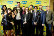 "The cast and crew of ""Pee-wee's Big Holiday"" attend the premiere of their film during the 2016 SXSW Music, Film + Interactive Festival at Paramount Theatre on March 17, 2016 in Austin, Texas."