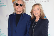 Joe Walsh (L) and Marjorie Bach Walsh attend the Peggy Albrecht Friendly House's 29th Annual Awards Luncheon at The Beverly Hilton Hotel on October 27, 2018 in Beverly Hills, California.