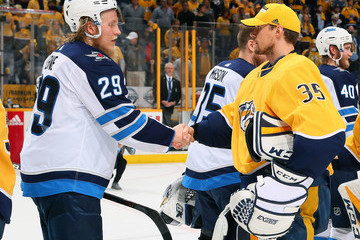 Pekka Rinne Winnipeg Jets Vs. Nashville Predators - Game Seven