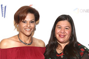 """Alexandra Billings and Mónica Ramírez attend the Penny Lane Centers Of Southern California's 50th Anniversary """"Voices Of Our Children"""" Celebration And Fundraiser Gala at Loews Hollywood Hotel on October 18, 2019 in Hollywood, California."""