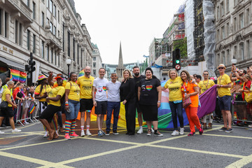 Penny Mordaunt Alison Champs Pride In London 2019