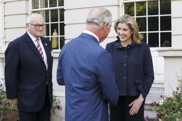 Penny Mordaunt The Prince Of Wales Attends The Launch Of The At Ease Appeal